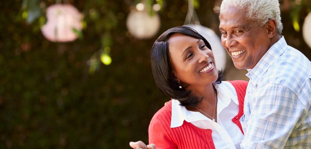 Retired Couple Celebrating Their Retirement